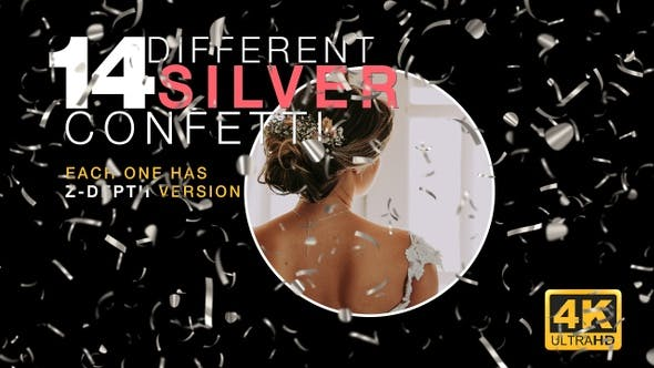 Thumbnail for Silver Confetti Pack