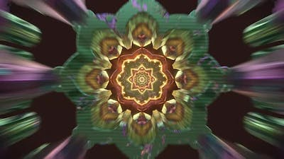 Love 3D Psychedelic Trippy Loop New Age Visuals  For Spiritual Awakening