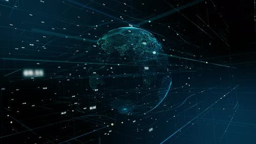 Digital world connect data - 4K