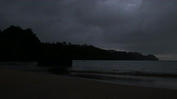 Thumbnail for Beach Sunset To Night Time Lapse Kauai Hawaii