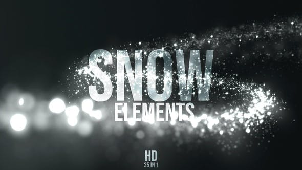 Thumbnail for Christmas Snow Elements
