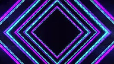 Abstract laser line pattern in black background