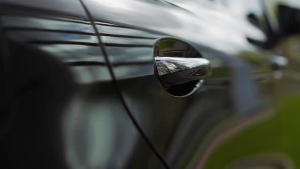 Thumbnail for Car Door Handle Close Up