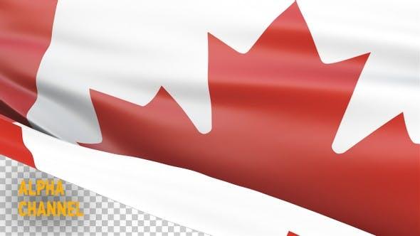 Canada Flag Transition