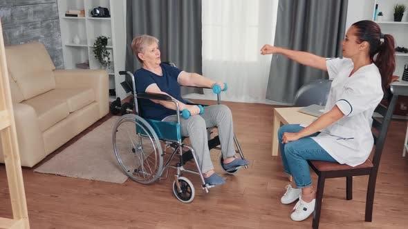 Thumbnail for Rehabilitation Treatment for Woman in Wheelchair