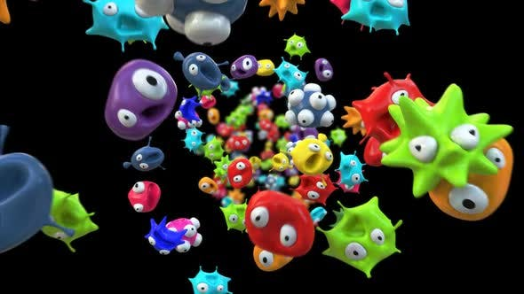 Thumbnail for Microbes flying