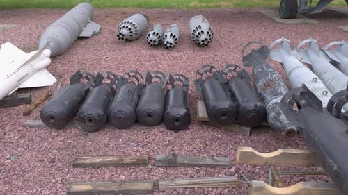 Old Military Rockets