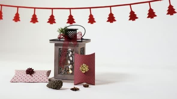 Thumbnail for Vintage Laterne und Geschenkboxen