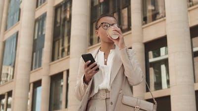 Businesswoman in Urban Environment