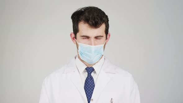 Thumbnail for Doctor wearing a mask