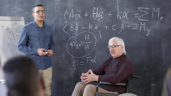 Cover Image for Teacher Helping Student Answer Question