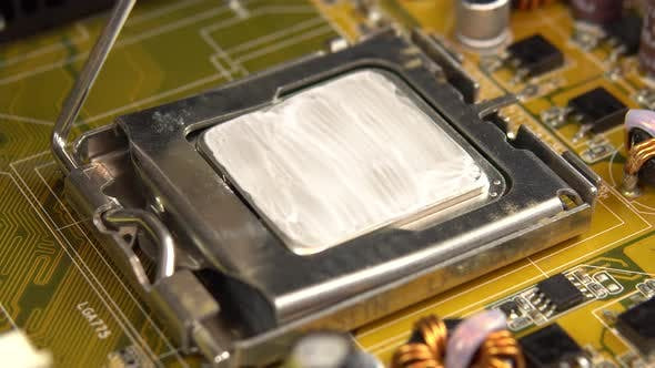 Pulls the Central Processor Out of the Motherboard. The Processing System of the Central Processes