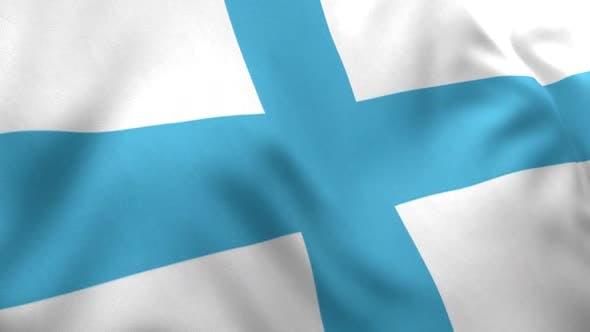 Marseille City Flag