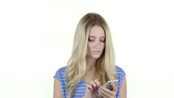 Cover Image for Woman Using Smartphone