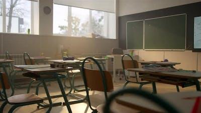 Classroom at School Campus
