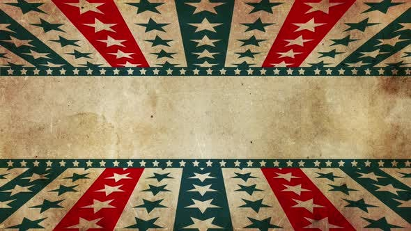 Thumbnail for Grunge Patriotic Stars And Stripes  Hd