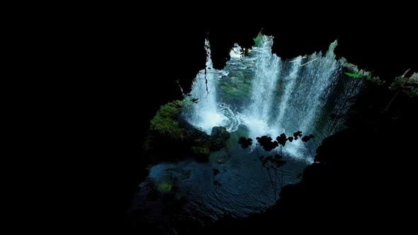 Thumbnail for Waterfall Cave and River