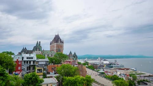 Timelapse of the Old Quebec City