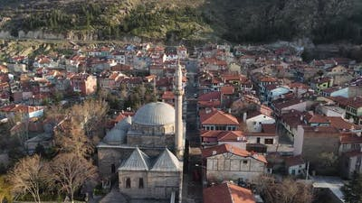 Aerial Historical Mosque