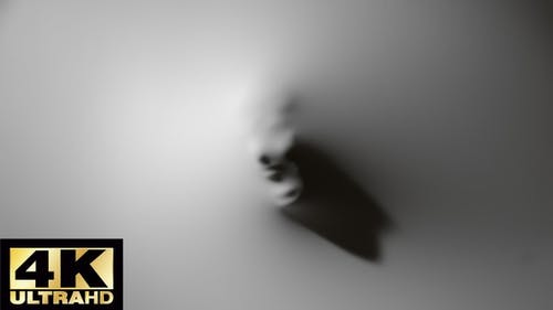 Ghost kreuz die Mauer