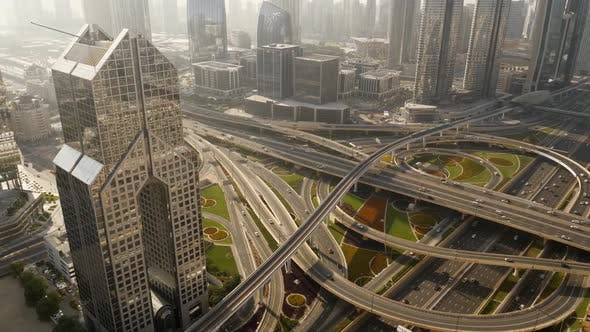 Thumbnail for Street Traffic in Finance Business City District