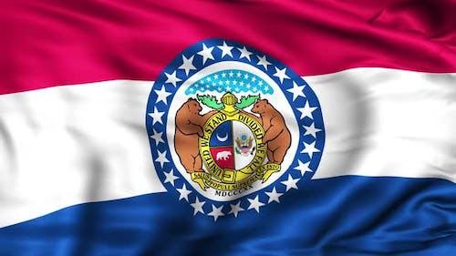 Drapeau de l'État du Missouri