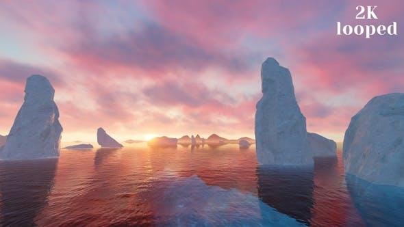 Thumbnail for Glacier in Antarctica