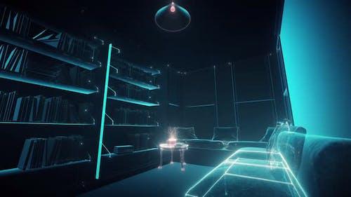 The Cozy Room Hud Hologram 4k