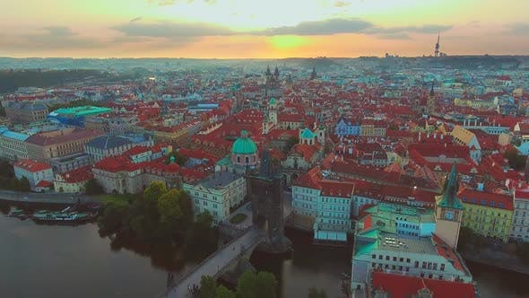 Thumbnail for Bridges of Prague Including the Famous Charles Bridge, Czech Republic, Europe