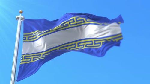 Flag of Marne in France