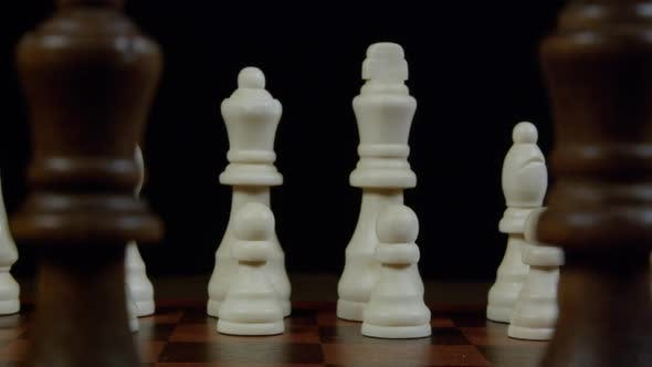King And Queen On a Chessboard