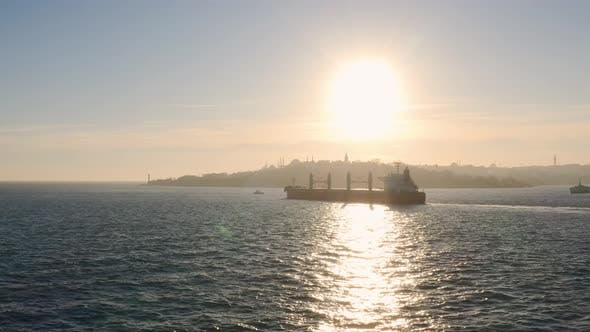 Thumbnail for Istanbul Bosphorus And Cargo Ship