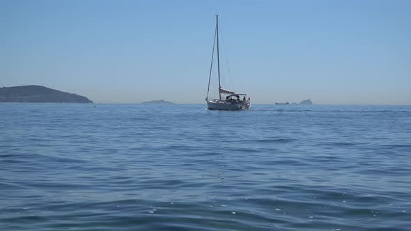 Thumbnail for Boat sailing by the sea