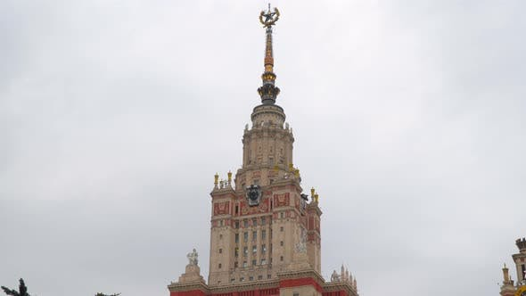 Thumbnail for Tower of the Building of Moscow State University