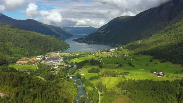 Thumbnail for Beautiful Nature Norway Natural Landscape Lodal Valley