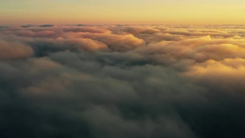 Cloud Sun Sunset Nature Fog Fly Air Above Fantastic View
