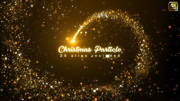 Thumbnail for Christmas Particles