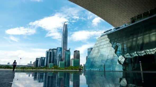 Timelapse of Shenzhen city
