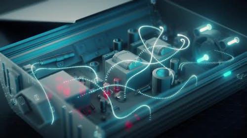Der Elektronisch Wechselrichter Hd