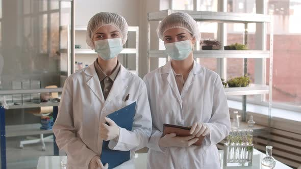 Thumbnail for Portrait of Two Young Female Biologists