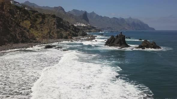 Thumbnail for Aerial of Benijo Beach, Tenerife