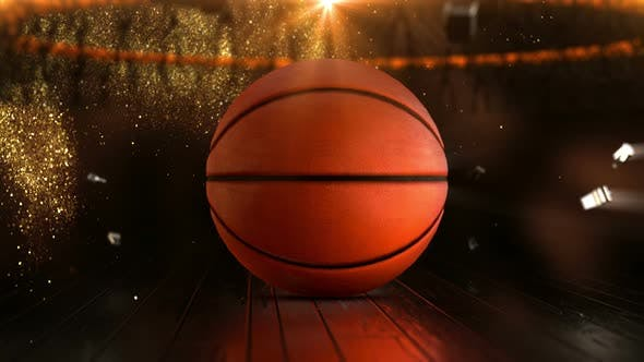 Basketball Sport Background Loop