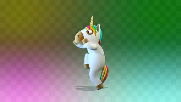 Unicorn Funny Dancing