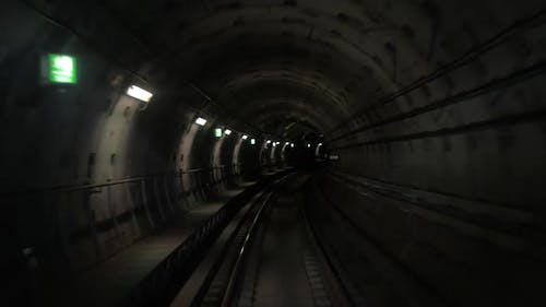 Moving along the Metro Tunnel