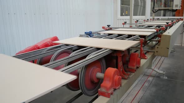 Conveyer Line For Ceramic Tile