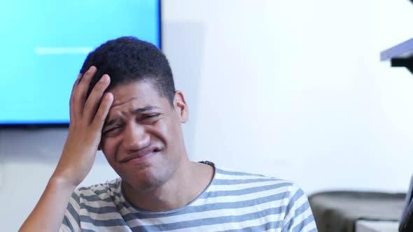 Thumbnail for Gesture of Failure, Upset Black Man