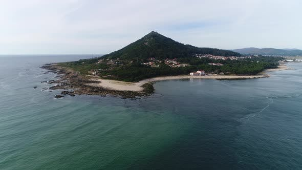 Aerial View From Drone on Tropical Beach