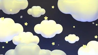 Cute Clouds At Night