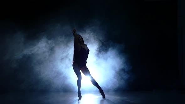 Erotic Show, Slow Motion, Smoke