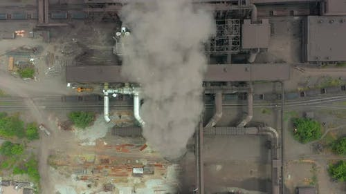 Top View of the Metallurgical Plant